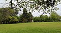 Across park towards east and the Stable Block at Wollaton Park, Nottingham, England.jpg