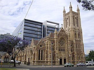 St Francis Xavier's Cathedral, Adelaide - Image: Adelaide St Francis Xavier Cathedral