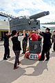 Admiral Cosplayers Loading Turret of Twin-Gun Chan 20150201.jpg