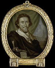 Portrait of Adriaen Pietersz van de Venne (1589-1662)