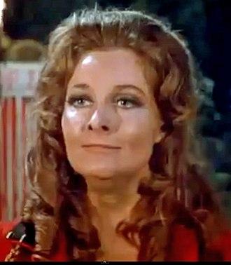 Adrienne Corri - Corri in Vampire Circus (1972).