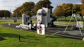 Fleet Air Arm Museum - Kid's playground at the Fleet Air Arm Museum