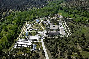 European Space Astronomy Centre - Aerial view of ESAC