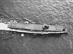 Aerial view of USS Belleau Wood (CVL-24) underway on 22 December 1943 (80-G-276768).jpg