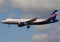 VQ-BBC - A320 - Aeroflot