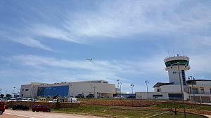 Lampedusa Airport - Image: Aeroporto di Lampedusa