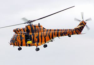 No. 230 Squadron RAF - A Westland Puma of 230 Squadron