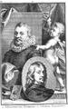 Aert Schouman P Tanje - Johannes van Ravestein and Adriaen Hanneman.png