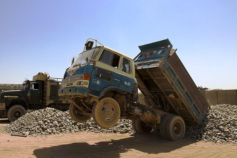 File:Afghan HINO dump truck.jpg