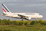 Air France Airbus A318-111 (F-GUGG) at Paris Charles de Gaulle Airport.jpg