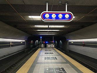 Airport station (GCRTA) - Image: Airport station (Cleveland)