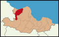 Alaçam District Location in Samsun Province.png