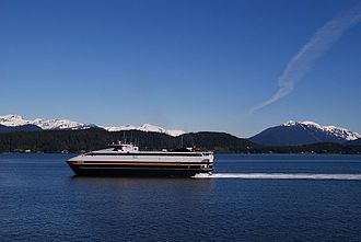 Cordova, Alaska - M/V Fairweather, sistership to the M/V Chenega which operates in Cordova