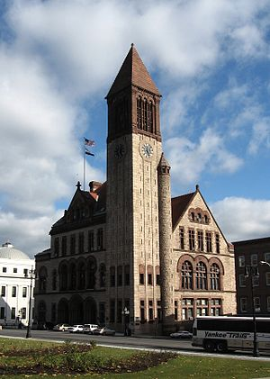 Neighborhoods of Albany, New York - City Hall, Downtown Albany