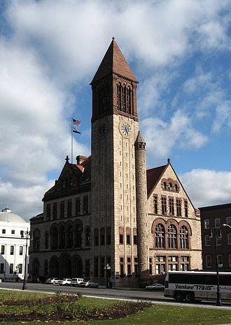 Neighborhoods of Albany, New York - City Hall, Downtown Albany