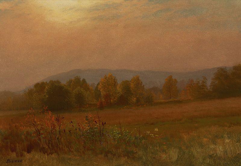 File:Albert Bierstadt - Autumn Landscape, New England.jpg