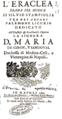 Alessandro Scarlatti - L'Eraclea (Naples 1700) - livret Silvio Stampiglia - page de titre.png