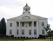 Alexanderwohl Mennonite Church in rural Goessel, Kansas