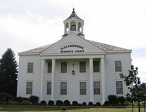 Mennonite Church USA - Alexanderwohl Mennonite Church, a Western District Conference congregation.