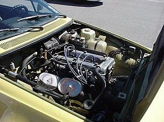Alfa Romeo Alfetta - Alfetta GT engine bay