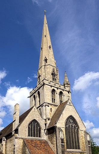 All Saints' Church, Cambridge - All Saints' Church from the south east