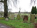 All Saints church in Dickleburgh - churchyard - geograph.org.uk - 1774154.jpg