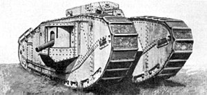 Tank Mark VIII - Image: Allied Mark VIII (Liberty) Tank