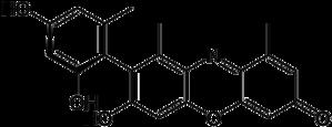 Orcein - Image: Alpha hydroxyorcein