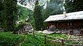 Alpine cabin (chalet) near Riederecksee, Risserkogel, Bavaria.JPG