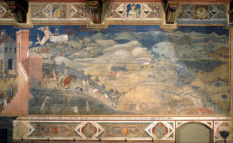 File:Ambrogio Lorenzetti - Effects of Good Government in the countryside - Google Art Project.jpg
