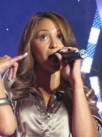 Amelle Berrabah - Berrabah performing in 2007