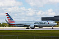 American Airlines Boeing 767 new livery (13307685425).jpg