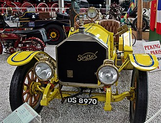 American LaFrance - 1912 American LaFrance Simplex 9.5l 4cyl. touring car (98PS)