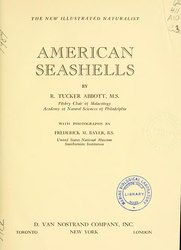 Robert Tucker Abbott: American seashells (1st edition)