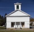 Ames-Clair Hall, the old Ames Methodist Church, built in 1857 in Union, West Virginia LCCN2015634358.tif