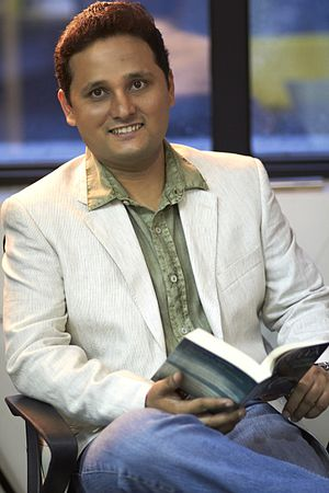 English: Author Amish Tripathi