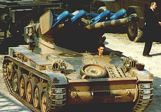 AMX-13 - SS.11 anti-tank missile-launcher version of the AMX-13