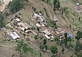 An aerial view of an earthquake hit village taken from an IAF aircraft on the way to Narain Thang near Kathmandu on April 27, 2015.jpg