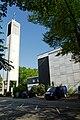 Anbetungskirche in Duesseldorf-Hassels, von Westen.jpg