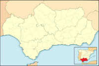 XRY is located in Andalusia