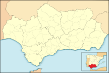 AGP is located in Andalusia