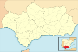 Moguer is located in Andalusia
