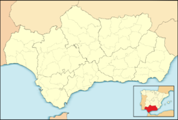 Marbella is located in Andalusiya