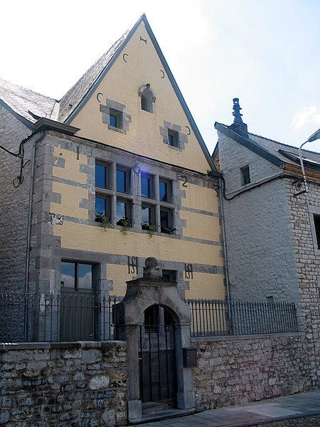 "Andenne (Belgium),  the house called ""St Begge"" (1623)."