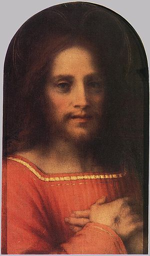 The Jesus I Never Knew - Christ the Redeemer by Andrea del Sarto