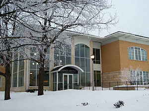 Upper Iowa University - The Andres Center for Business and Education was built in 2004
