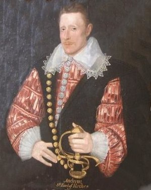 Earl of Rothes - Image: Andrew Leslie, 5th Earl of Rothes
