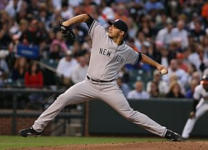 Andy Pettitte - Pettitte with the New York Yankees