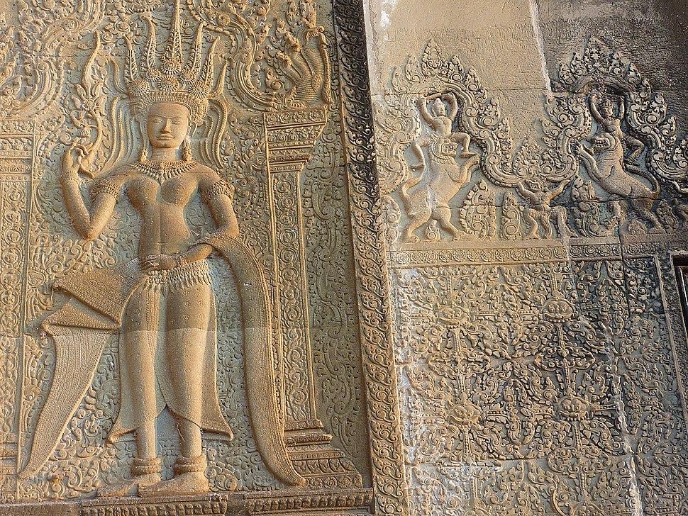 Angkor Wat - 047 Apsaras (8581709930)