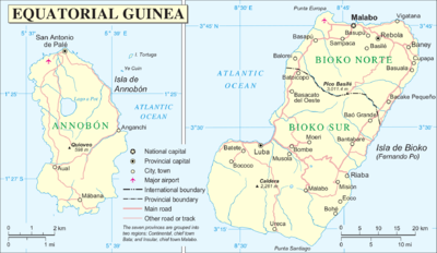 Insular Region (Equatorial Guinea) - Wikipedia on map showing algeria and guinea, map of equatorial guinea in madrid, the capital of guinea ecuatorial in spanish, map of nigeria biafra, guinea ecuatorial map in spanish, map of africa, map of only equatorial guinea, map of mbini river, map of equatorial guinea in spain,